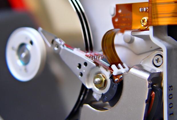 Mécanisme de disque dur