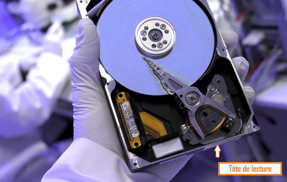 Chronodisk disque dur salle blanche