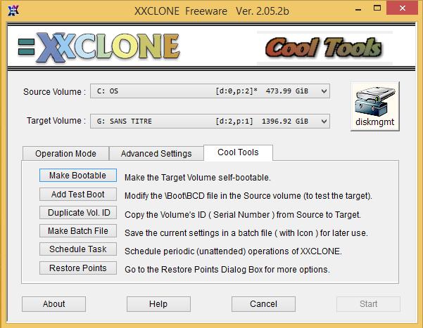 Cloner son disque dur avec Xxclone