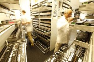 Stock de disques durs