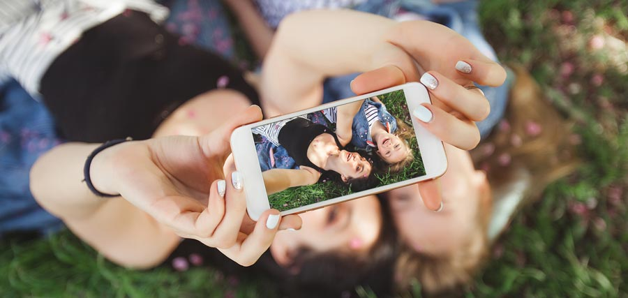 Perdre photos avec smartphone