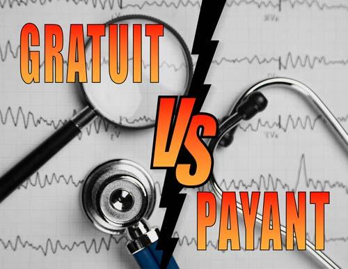 Gratuit vs Payant